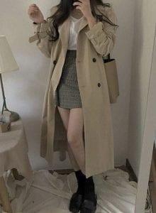 Áo khoác Trench coat - Ảnh 1