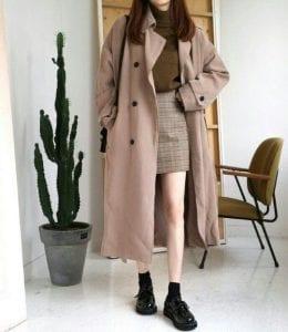 Áo khoác Trench coat - Ảnh 2