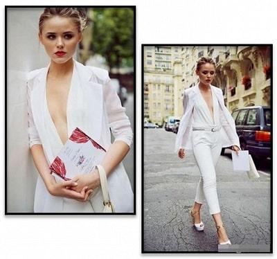 Suit + Tóc tết