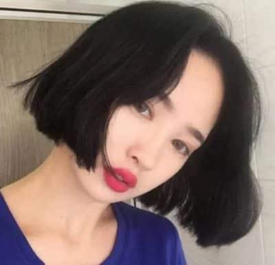 Kiểu tóc ngắn này cũng phù hợp với những cô nàng tóc tơ và mỏng.