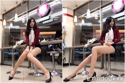 Quần ngắn giúp tôn lên đôi chân dài miên man nhưng chị em không nên quá lạm dụng.