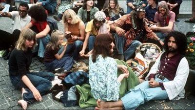 Một cộng đồng những người theo phong cách Hippie