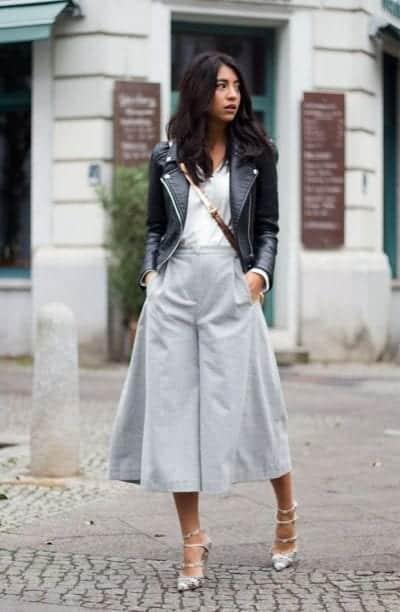 Quần Culottes là xu hướng thời trang cực HOT trong năm nay