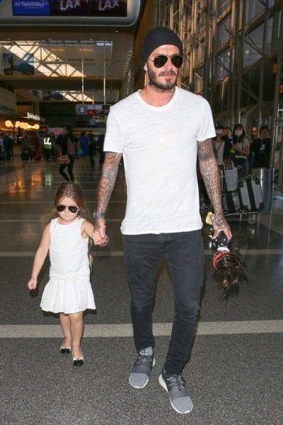 Thoải mái, năng động nhưng cá tính như David Beckham