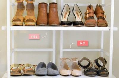 Ngược lại những đôi giày bệt là hắc tinh của quần ống loe đấy các nàng ạ.