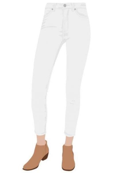 Hiện nay có rất nhiều mẫu mã, màu sắc cho quần skinny để bạn dễ dàng lựa chọn