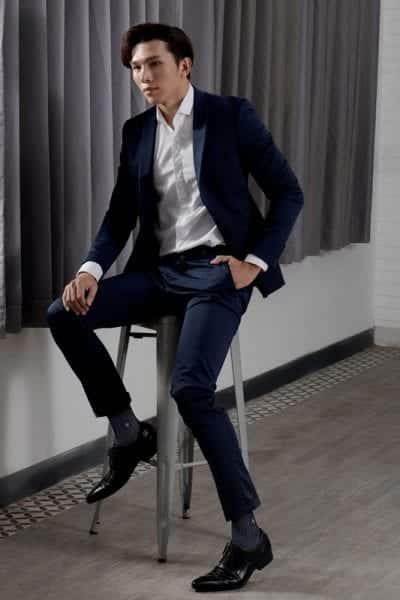 Suit gồm quần dress trouer và Áo khoác Suit Jacket