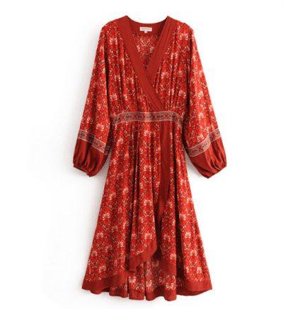 @nuistore nhận order chiếc váy thổ cẩm hot hit chỉ 190k.