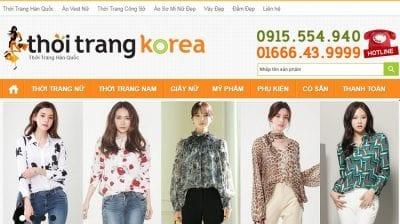 Shop Thời Trang KOREA - thoitrangkorea.com