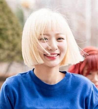 Kiểu tóc màu bạch kim - Ảnh 10