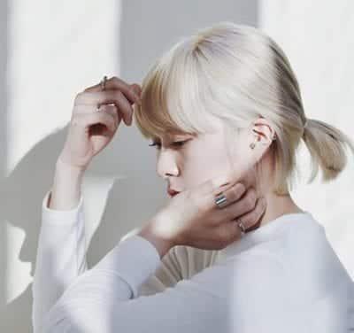 Kiểu tóc màu bạch kim - Ảnh 13