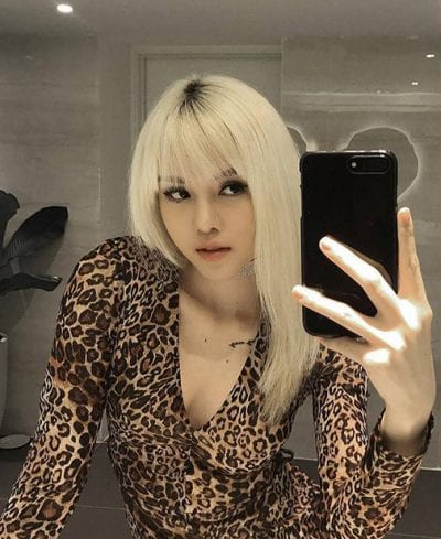 Kiểu tóc màu bạch kim - Ảnh 15