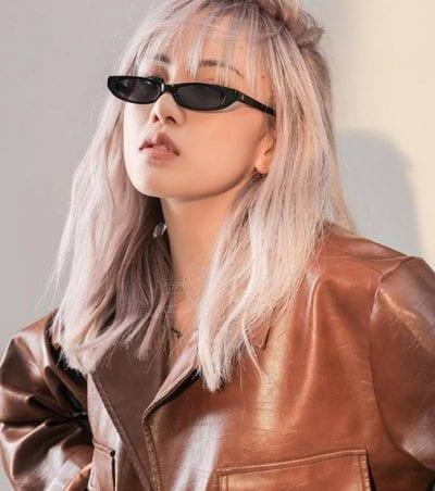 Kiểu tóc màu bạch kim - Ảnh 16