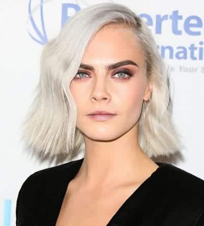 Kiểu tóc màu bạch kim - Ảnh 18