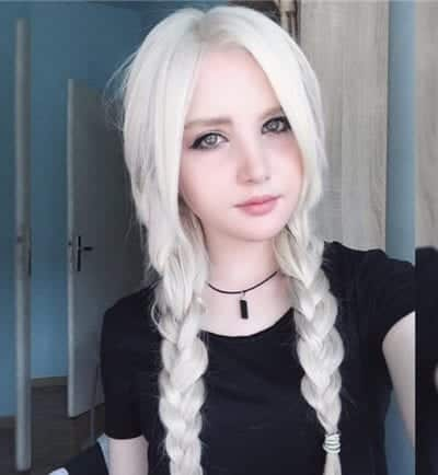 Kiểu tóc màu bạch kim - Ảnh 4