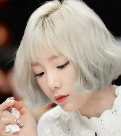 Kiểu tóc màu bạch kim - Ảnh 6