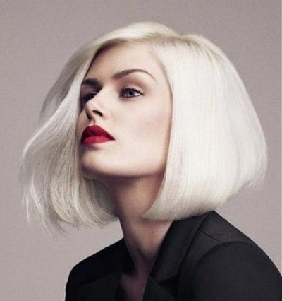 Kiểu tóc màu bạch kim - Ảnh 7