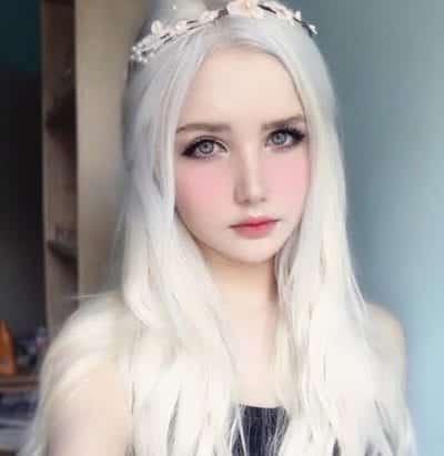 Kiểu tóc màu bạch kim - Ảnh 9