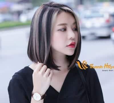 Kiểu tóc màu đen khói - Ảnh 13
