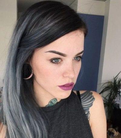 Kiểu tóc màu đen khói - Ảnh 18