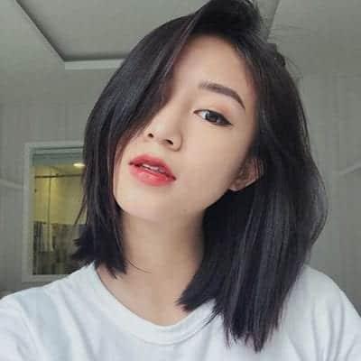 Kiểu tóc màu đen khói - Ảnh 19
