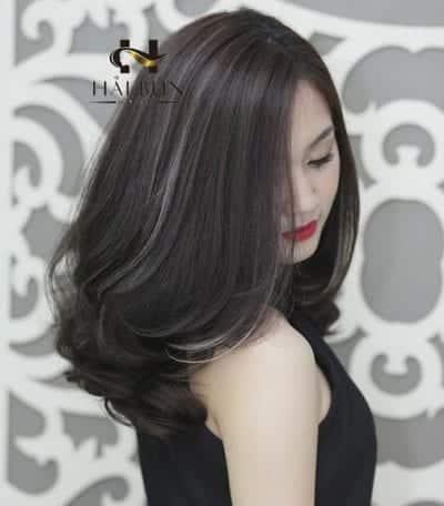 Kiểu tóc màu đen khói - Ảnh 4