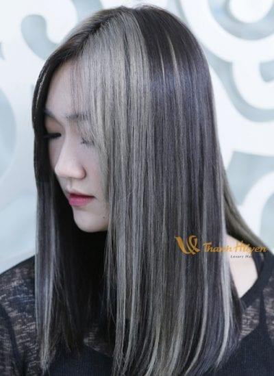 Kiểu tóc màu đen khói - Ảnh 5