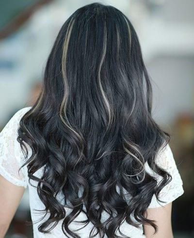 Kiểu tóc màu đen khói - Ảnh 7