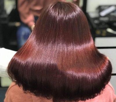 Kiểu tóc màu nâu đồng - Ảnh 1