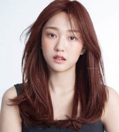 Kiểu tóc màu nâu đồng - Ảnh 17
