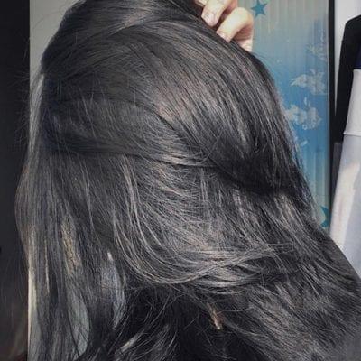 Tóc màu than chì - Ảnh 1