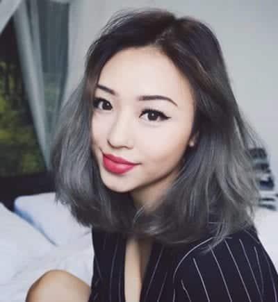 Tóc màu than chì - Ảnh 10