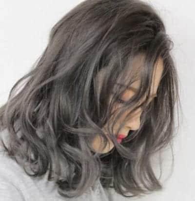 Tóc màu than chì - Ảnh 15