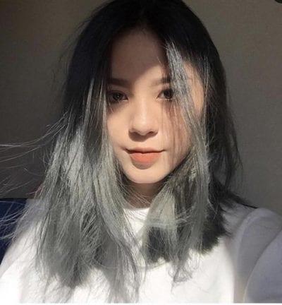 Tóc màu than chì - Ảnh 2
