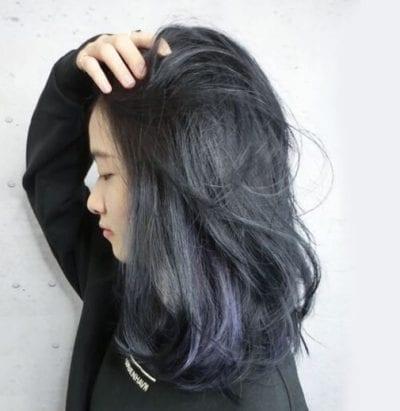 Tóc màu than chì - Ảnh 26