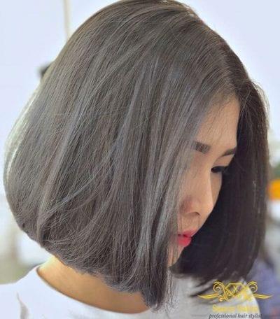 Tóc màu than chì - Ảnh 5
