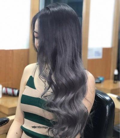 Tóc màu than chì - Ảnh 7