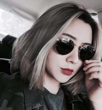 Tóc màu than chì - Ảnh 8
