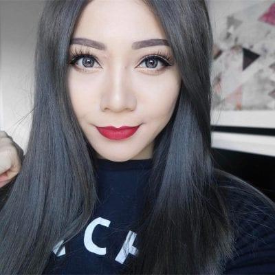 Tóc màu than chì - Ảnh 9