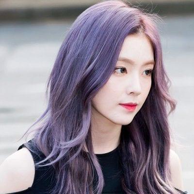Kiểu tóc màu tím khói - Ảnh 10
