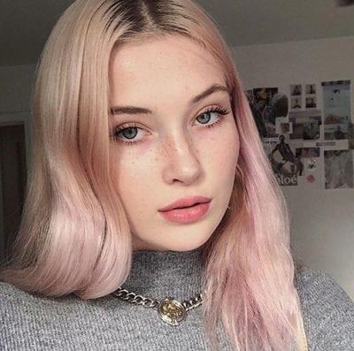 Kiểu tóc màu tím khói - Ảnh 13