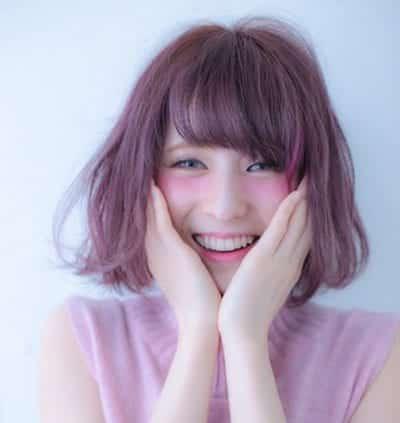 Kiểu tóc màu tím khói - Ảnh 15