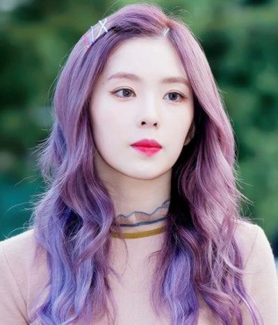 Kiểu tóc màu tím khói - Ảnh 9