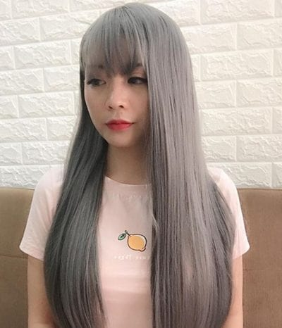 Tóc màu xám tro - Ảnh 15