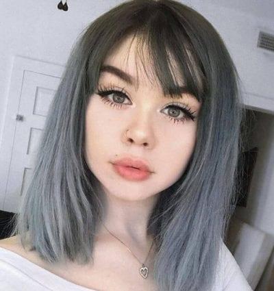Tóc màu xám tro - Ảnh 16
