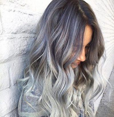 Tóc màu xám tro - Ảnh 19