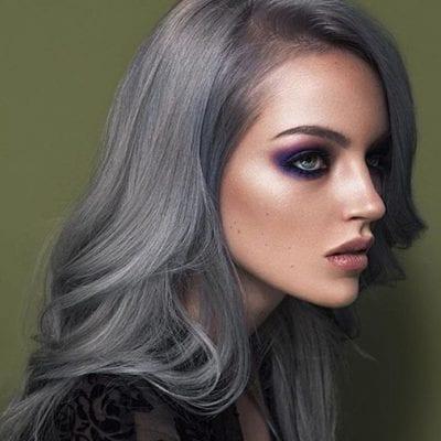 Tóc màu xám tro - Ảnh 5