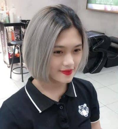 Tóc màu xám tro - Ảnh 7
