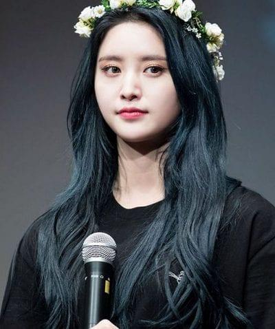 Tóc màu xanh đen - Ảnh 14