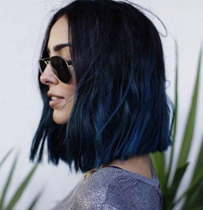 Tóc màu xanh đen - Ảnh 19